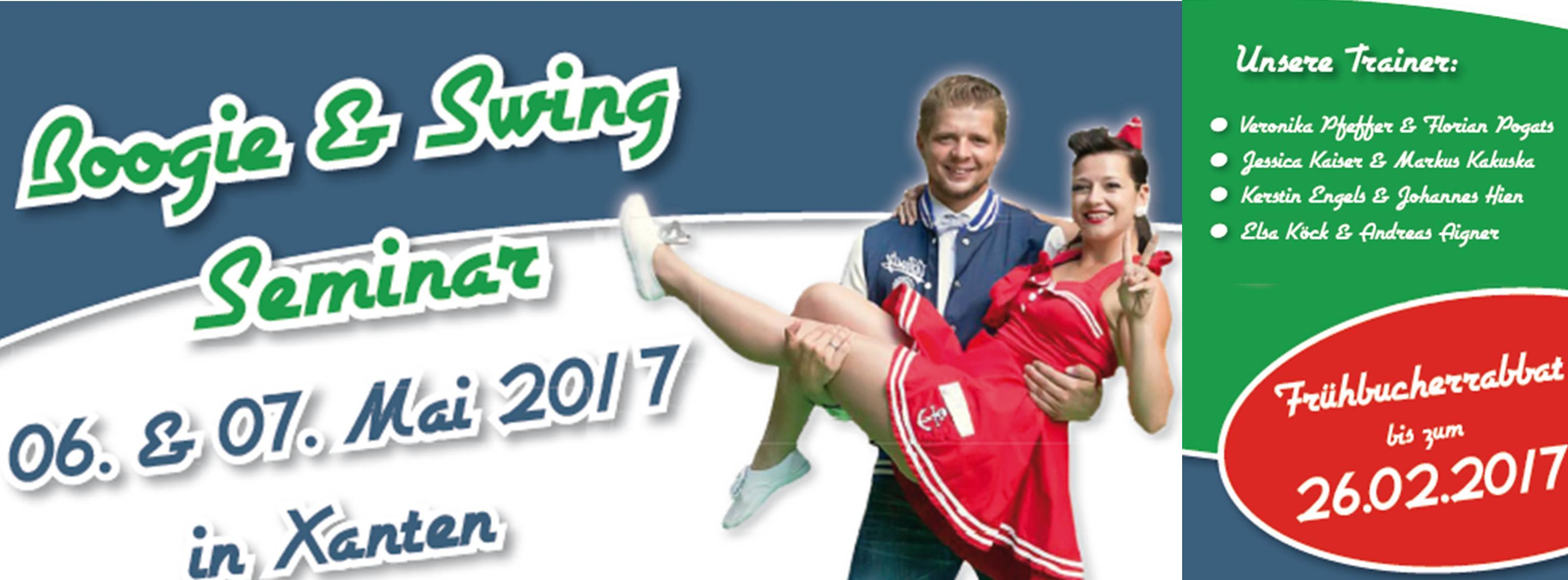 Boogie & Swing Seminar in Xanten