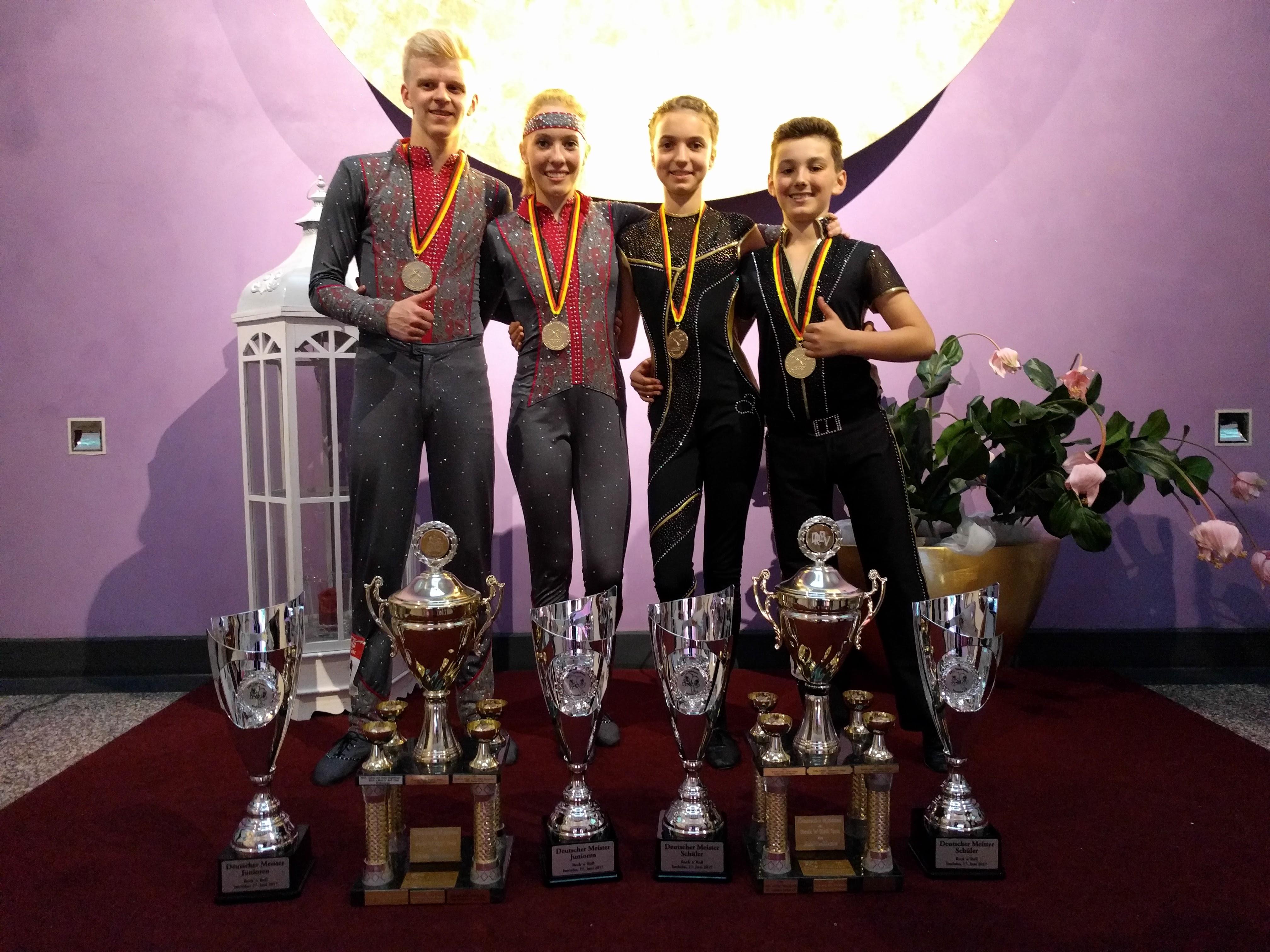Deutsche Meisterschaft in Iserlohn: Titel verteidigt
