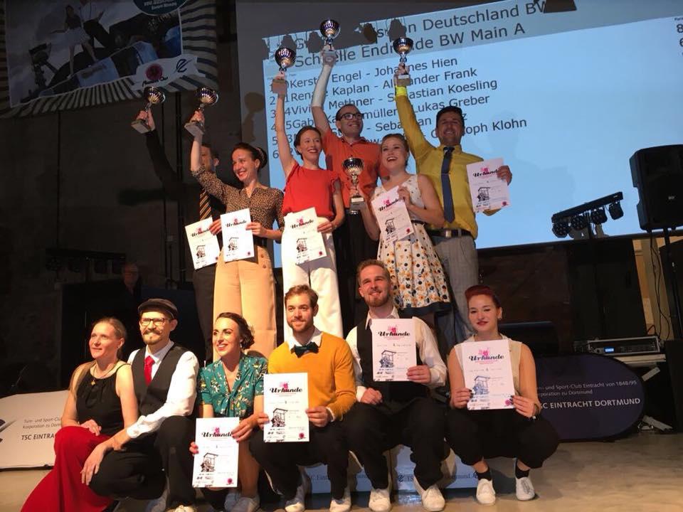 Siepen/Hofmann holen Gold: Boogies swingen beim Großen Preis von Deutschland in der Zeche Zollern