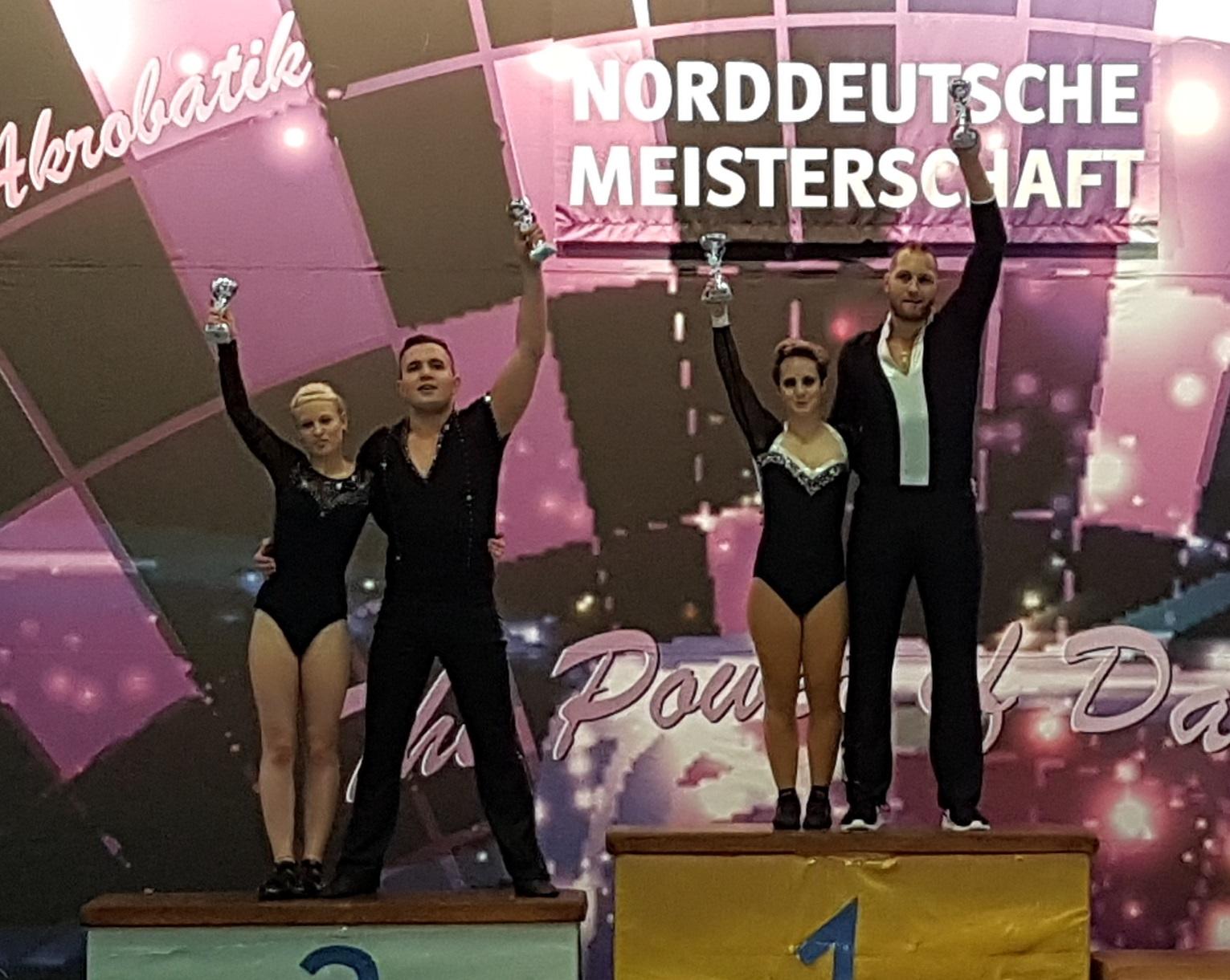 Vier Norddeutsche Meister aus Nordrhein-Westfalen