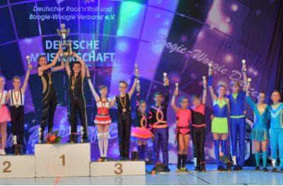 Deutsche Meister in der Schüler- und Junioren Klasse aus NRW