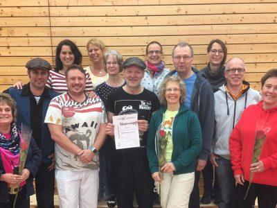 Nordrhein-Westfalen und Hessen haben insgesamt zehn neue Trainer-C im Boogie Woogie